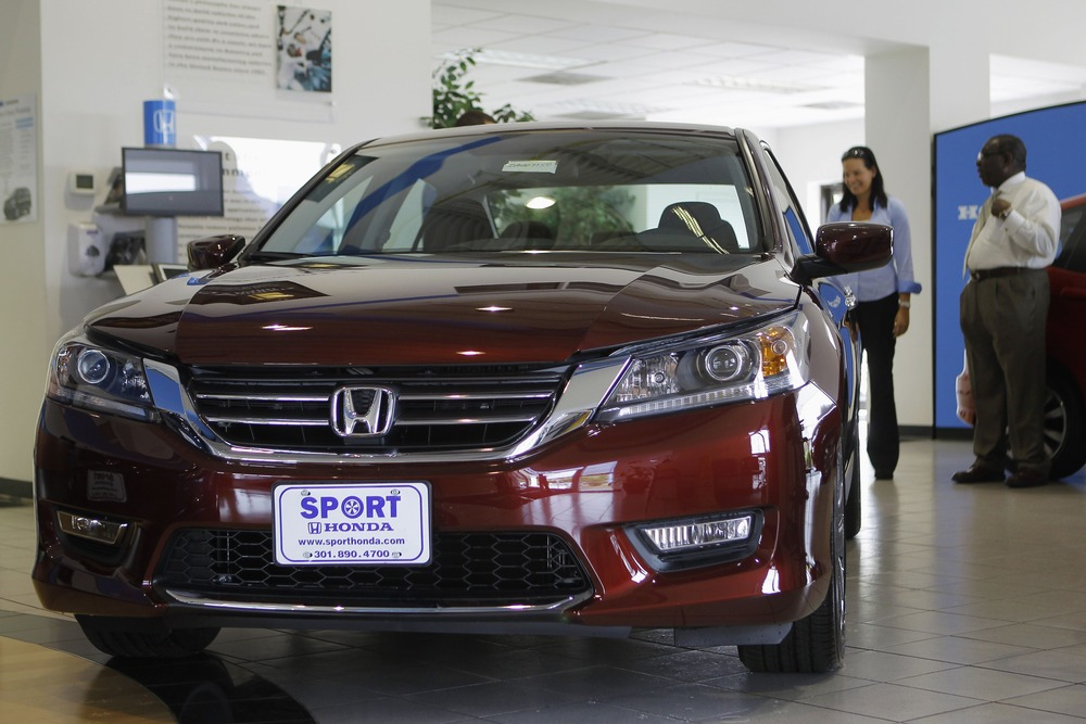 Superior Image: Sales Personnel At Sport Honda Look Over First 2013 Honda Accord To  Hit Showroom Floor In Silver Spring, Maryland