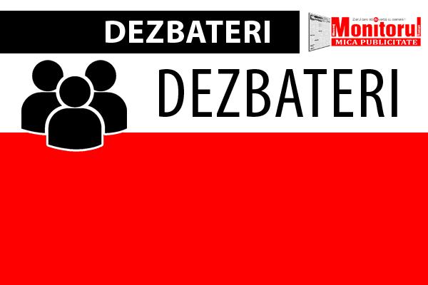 dezbateri