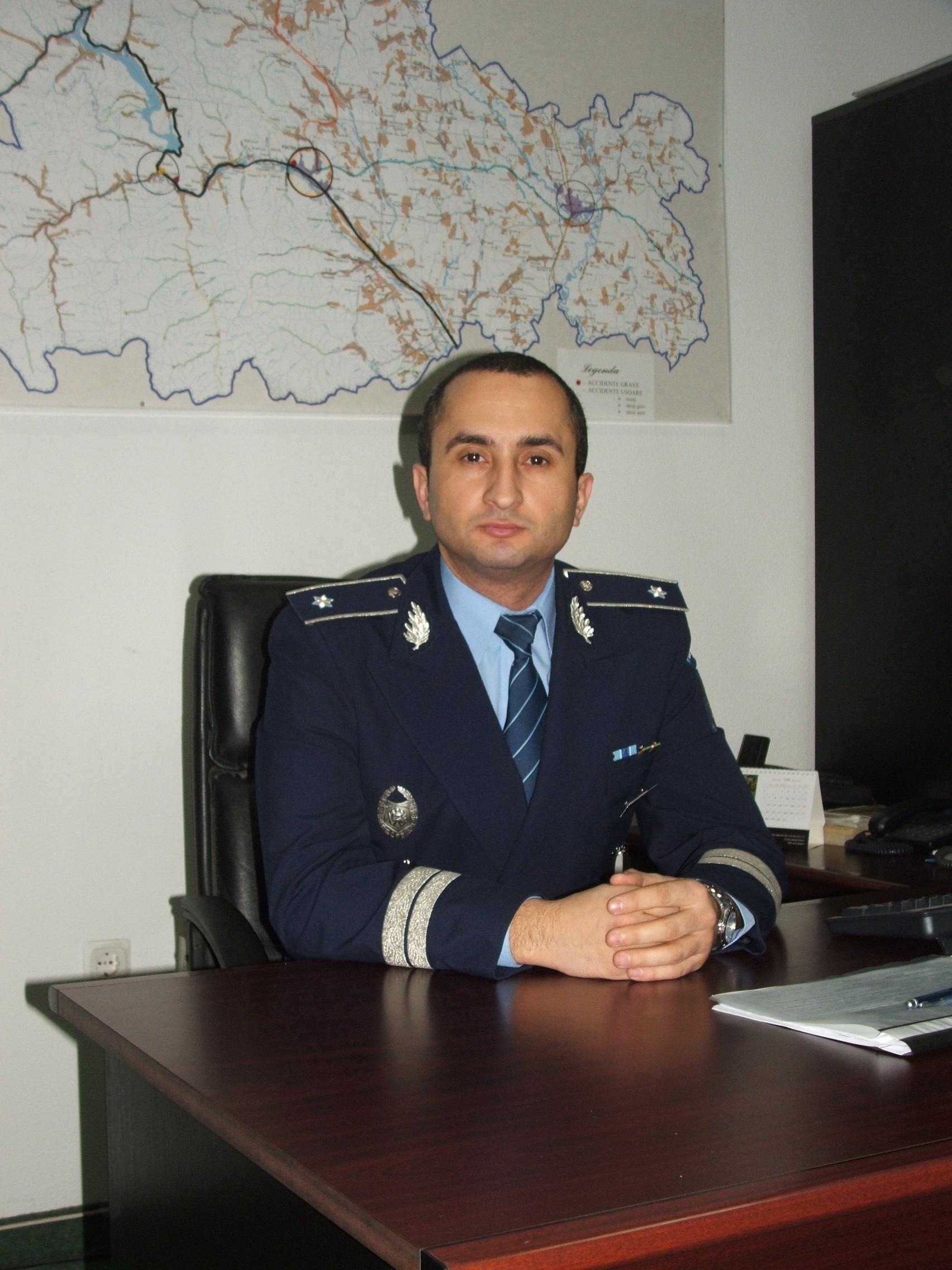 Care sînt priorităţile noului şef al Poliţiei Neamţ