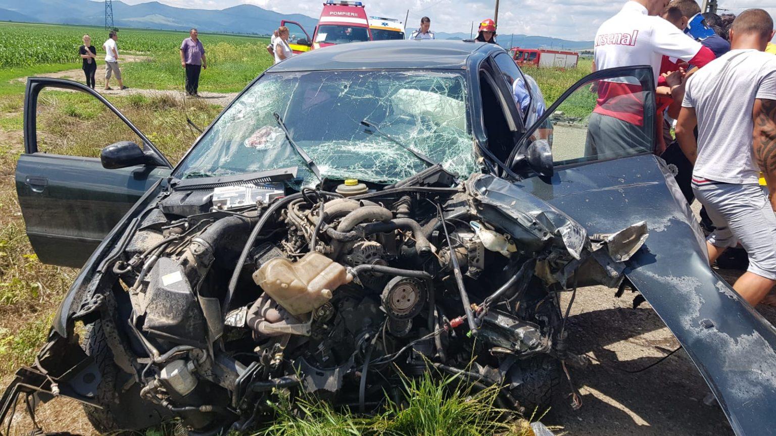 UPDATE FOTO: Neamţ: Accident cu şase victime